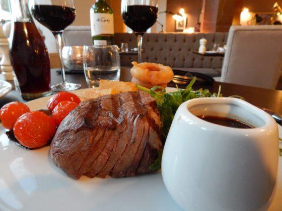 Dinner at The Alverton, Truro