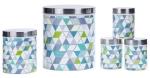 five piece kitchen storage set from argos