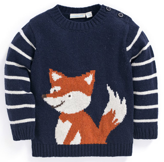 fox jumper from jojo maman bebe
