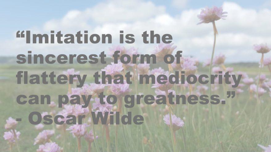 imitation quote