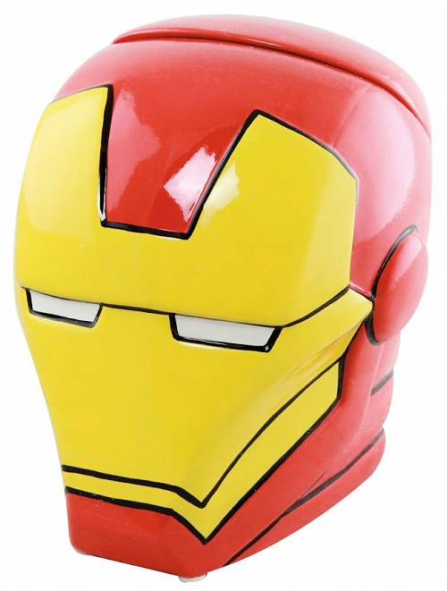 iron man cookie jar from truffle shuffle