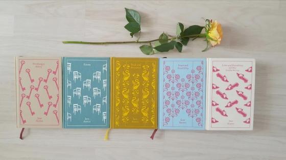 jane austen clothbound classics