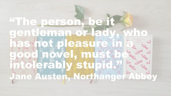 Northanger Abbey quote