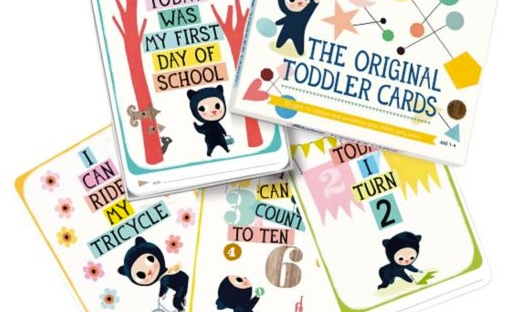 toddler milestone cards from boots