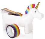 unicorn rainbow tape dispenser from amazon