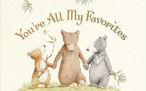 youre all my favourites by sam mcbratney and anita jeram