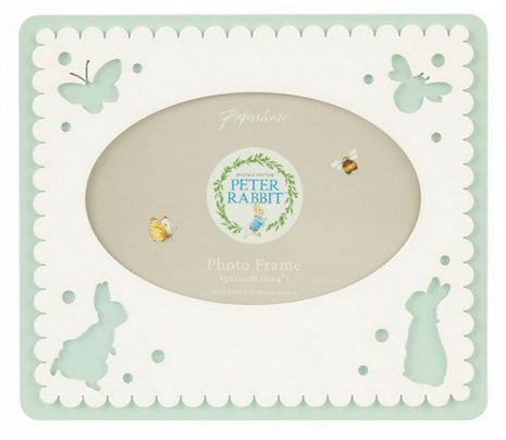 peter rabbit photo frame from paperchase