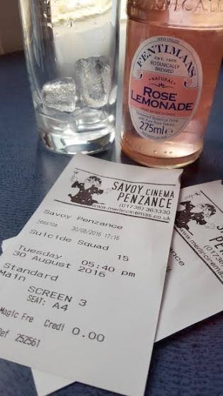 suicide squad cinema tickets