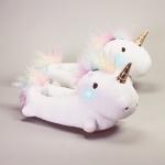 unicorn light up slippers from firebox