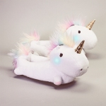 unicorn light up slippers from firebox