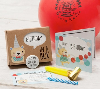 birthday box from not on the high street