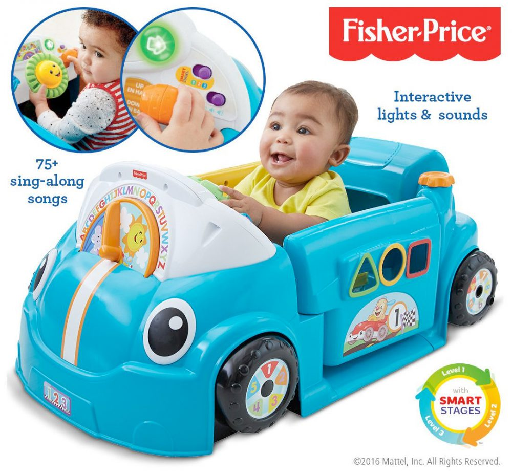 Laugh & Learn Crawl Around Car | Y6965 | Fisher-Price