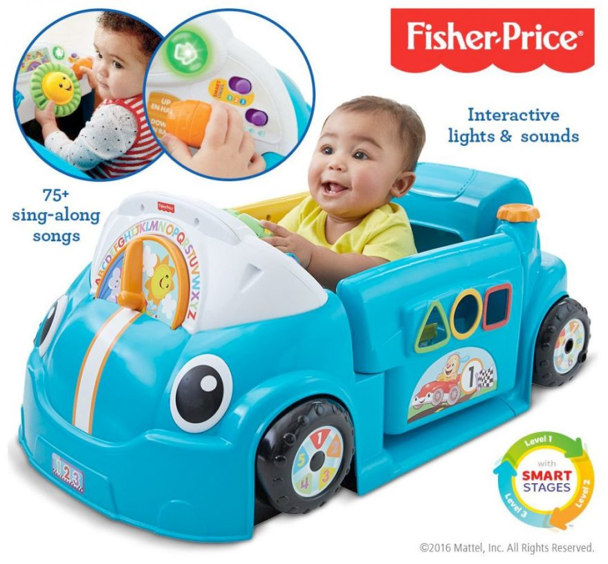 fisher price laugh and learn crawl around car from argos