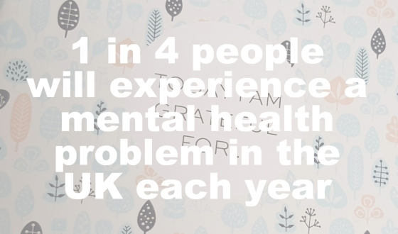 1 in 4 people will experience a mental health problem this year - Mind
