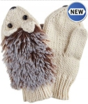 hedgehog mittens from joe browns