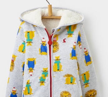 lion hoody from joules