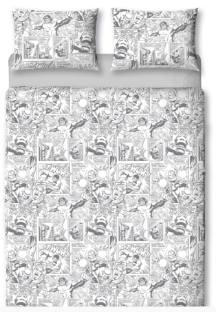 marvel kingsize duvet set from asda