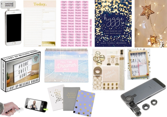 2016 christmas gift guide for bloggers