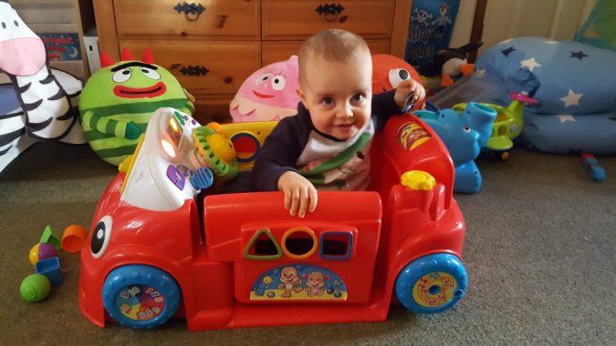 Jenson's new wheels