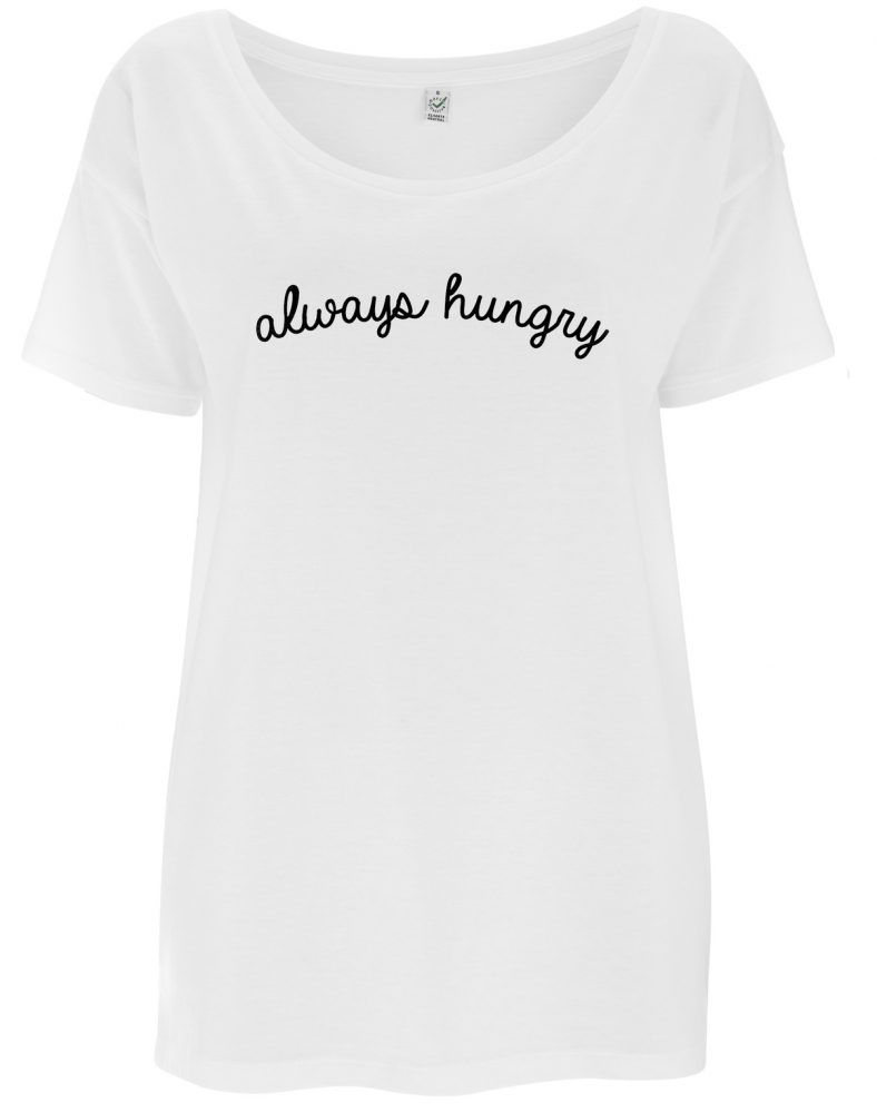 always hungry tee from la la land
