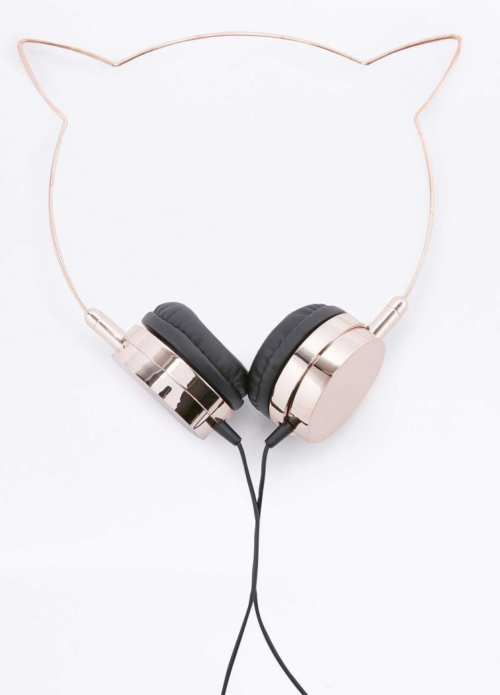 cat headphones from urban outfitters