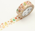 christmas cookie washi tape from fox and star