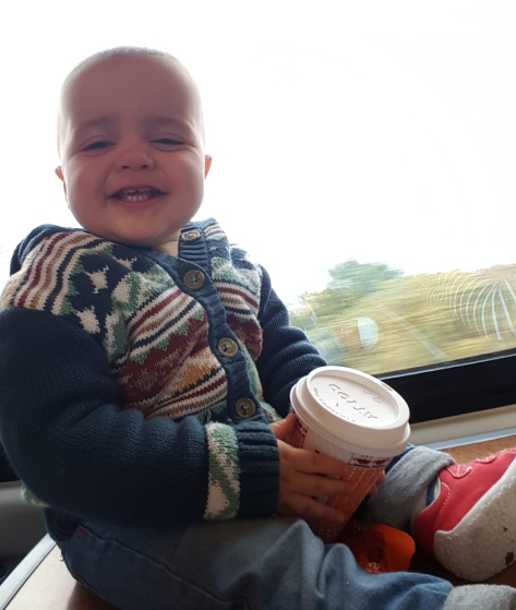 jensons first train ride