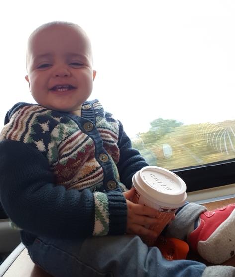 jensons first train ride