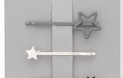 mini star hair grips from oliver bonas