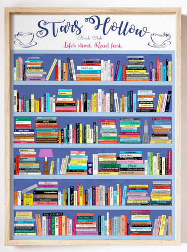 rorys books print from etsy