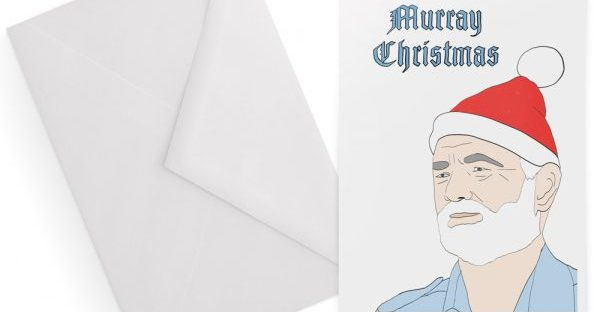 bill murray christmas card from la la land