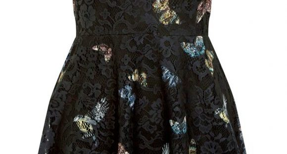 enchanted forest lace dress from oasis
