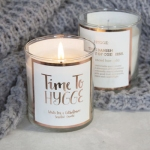 hygge candle from not on the high street