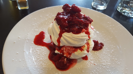 pavlova from the old lifeboat house