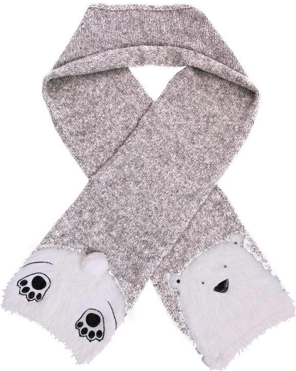polar bear scarf from yumi