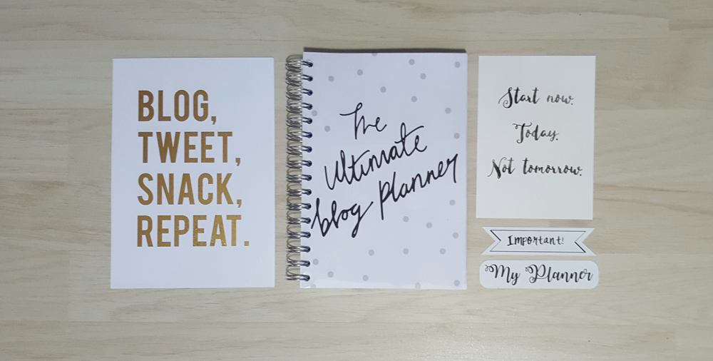 the ultimate blog planner from dot creates