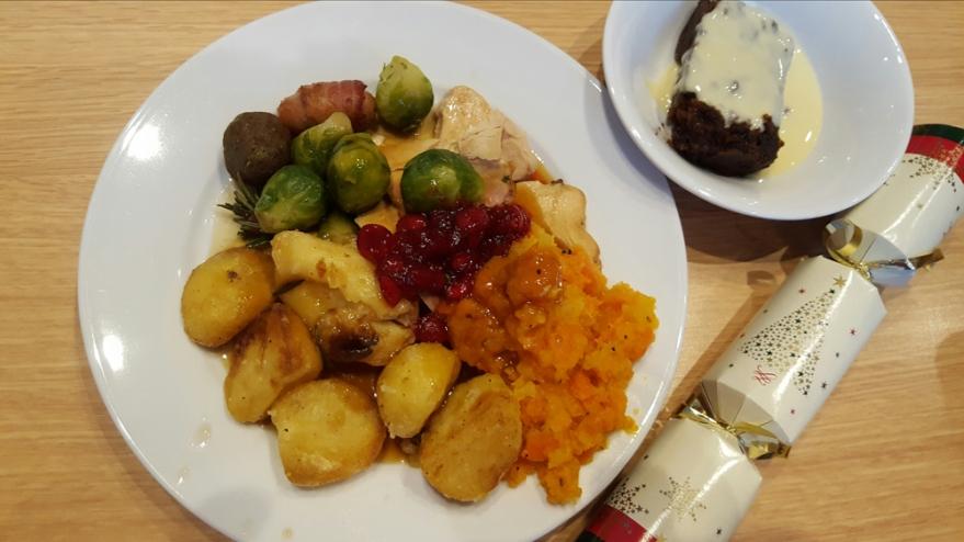 work christmas dinner