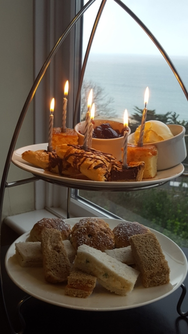 afternoon tea at St Ives Harbour Hotel & Spa
