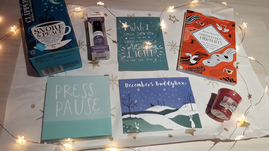 review of the Christmas #BlurtBuddyBox