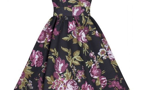 floral audrey swing dress from pretty kitty fashion