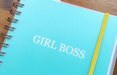 girl boss diary from chroma stationery
