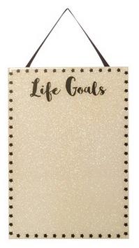 life goals noticeboard from primark