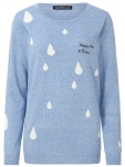 raindrop sweater from sugarhill boutique