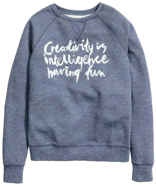 sweatshirt from h&m