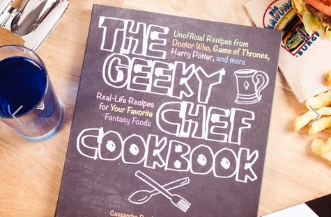 the geeky chef cookbook from firebox