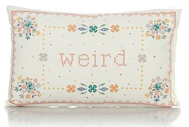 weird cushion from george at asda