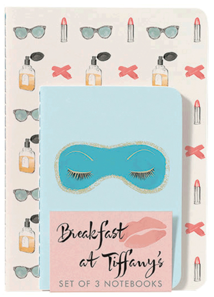 breakfast at tiffanys notebooks from abrams & chronicle