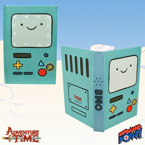 bmo light up journal from amazon