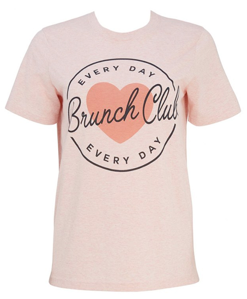 brunch club t-shirt from joanie