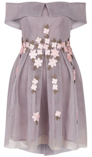 embroidered dress from new look